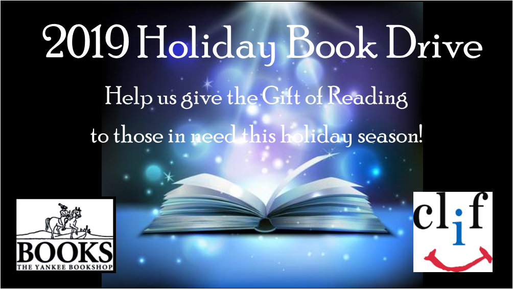 2019 Holiday Book Drive with Yankee Bookshop and the Childrens Literacy Foundation